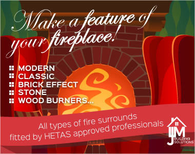 Make a feature of your fireplace!