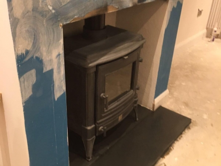 Twin-wall flue system