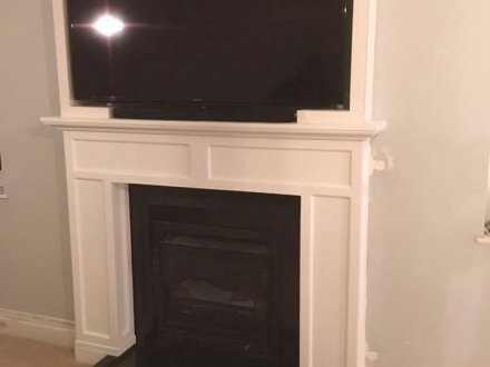 Handcrafted Bespoke Fireplace Surround