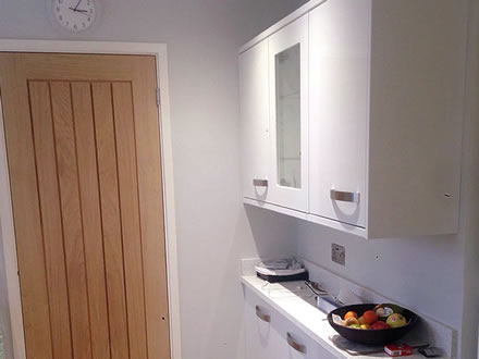 Kitchen & Oak Door