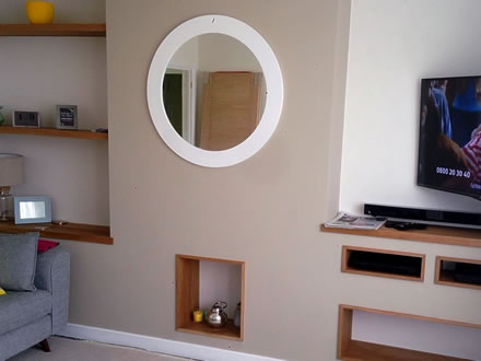 Bespoke Carpentry in Lounge